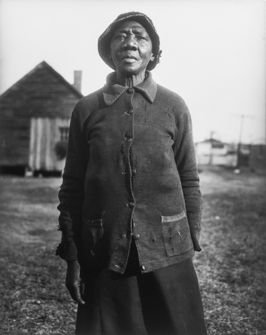 Eudora Welty, A Woman of the Thirties, Silver Gelatin Print, 1935