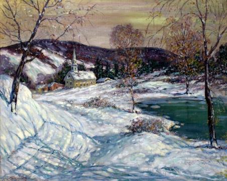 Miles Early Illinois Landscape Snow