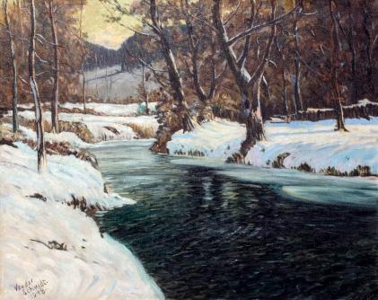 Vonder Schmidt Winter Stream 1948