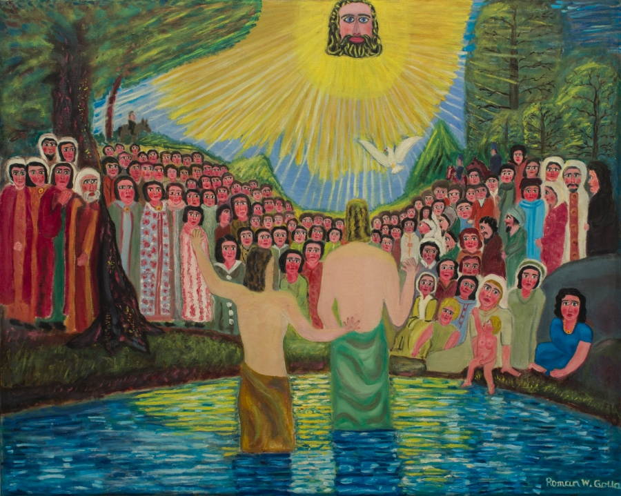 NS2014.030 The Baptizing of Jesus